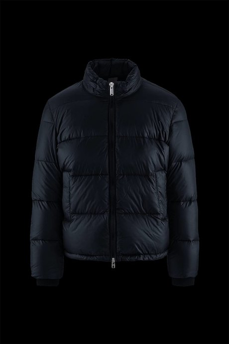 Ripstop Down Jacket High Collar