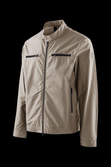 Cotton-nylon jacket