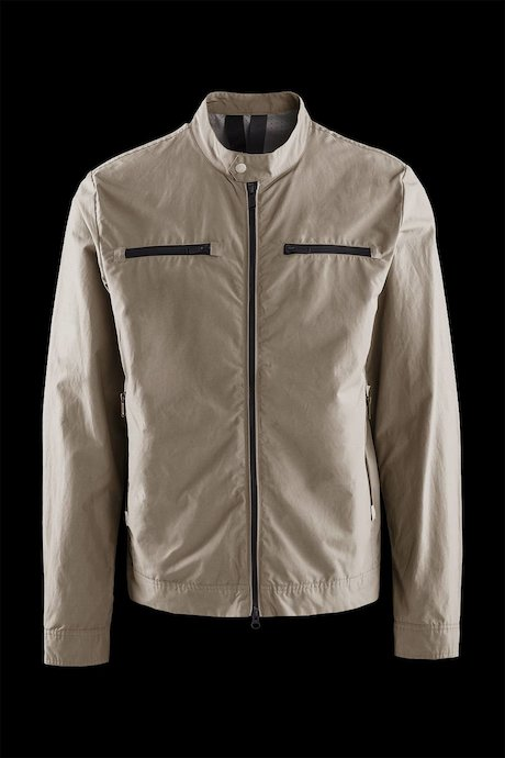 Cotton-nylon jacket