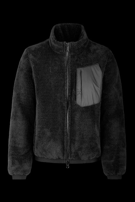Bomber long fleece polaire