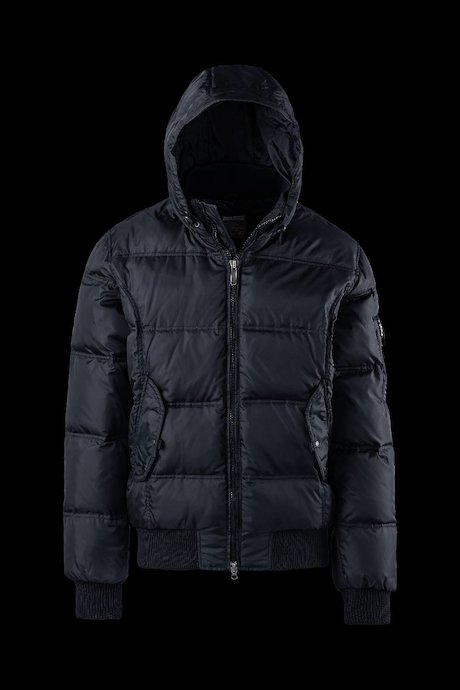 Padded Quilted Bomber Hood