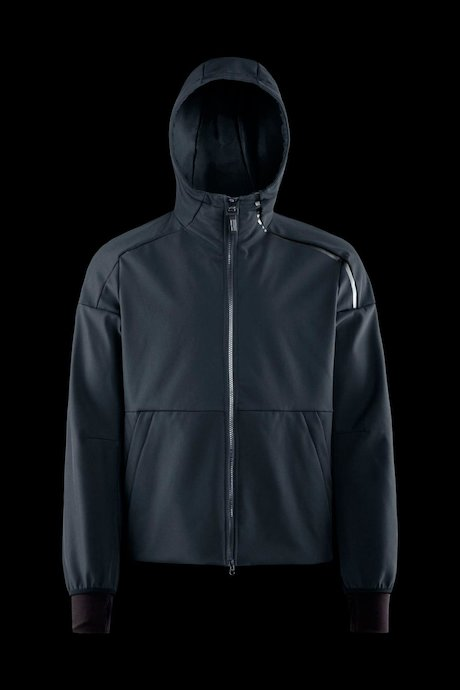 Softshell jacket with hood