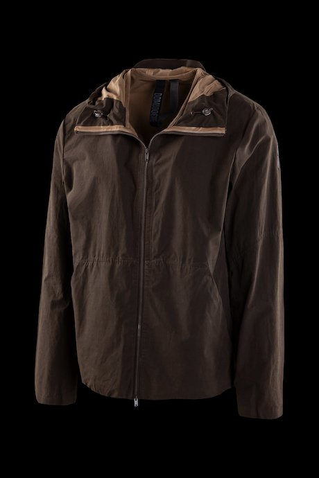 Unlined jacket with hood