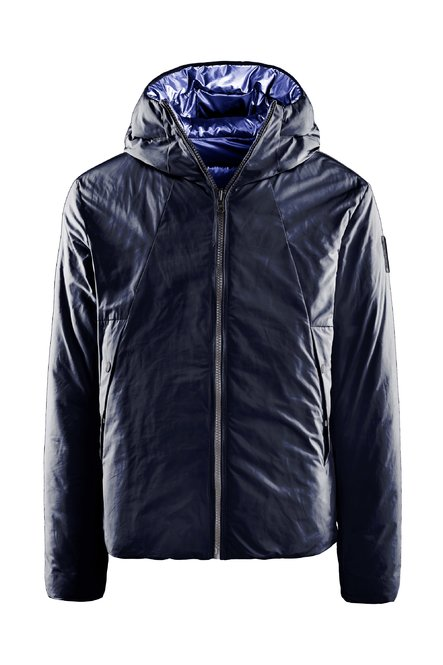 Reversible down jacket PrimaLoft® PowerplumeTM padding