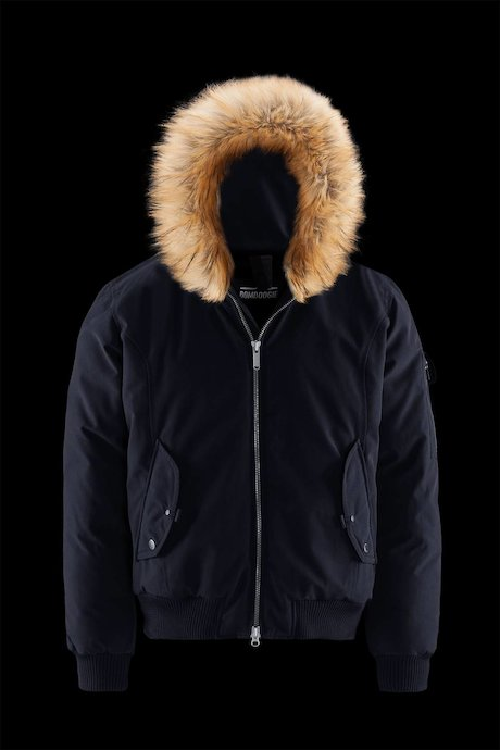 Bomber Hood Faux Fur Inserts