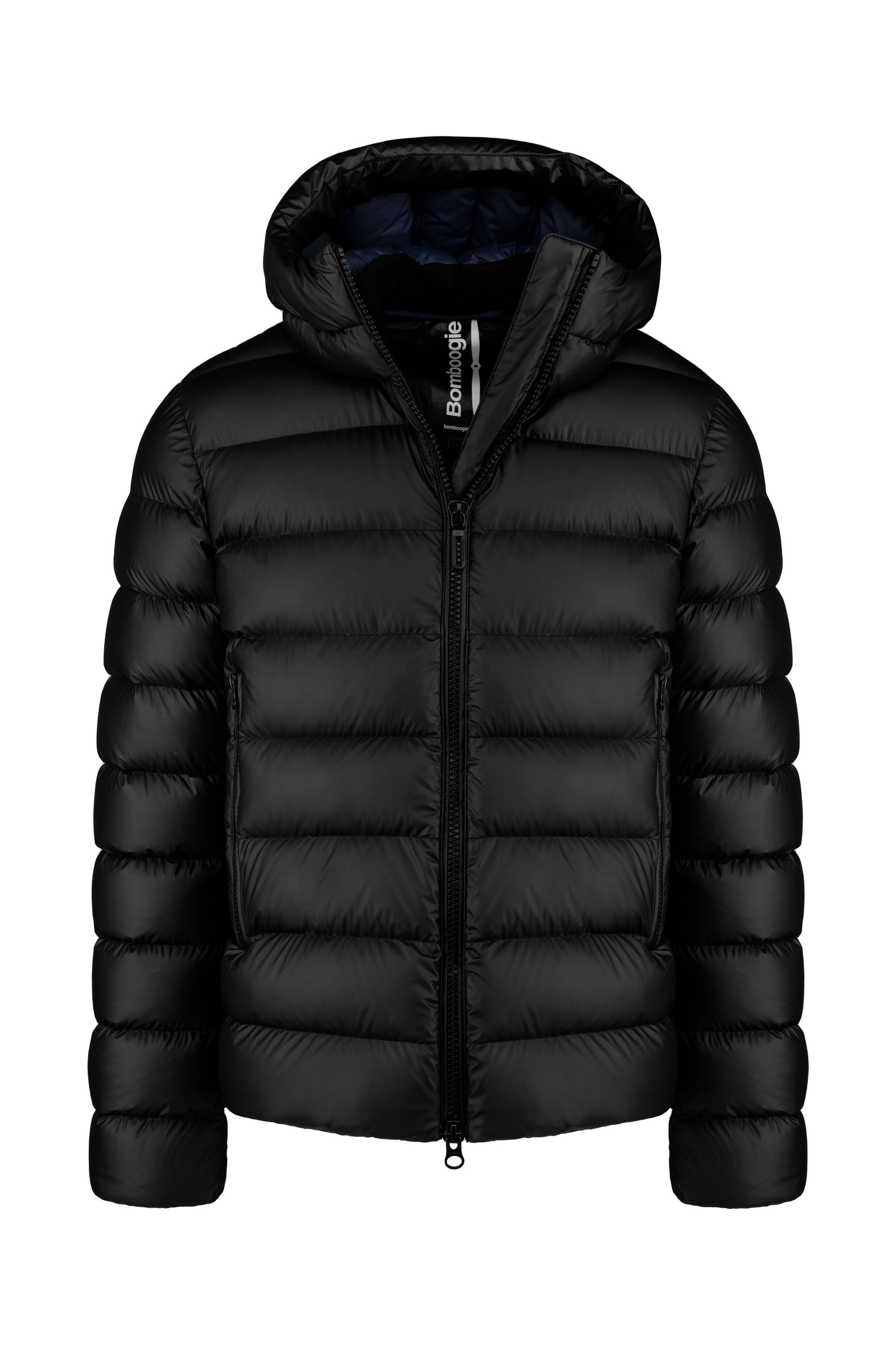 Down jacket in stretch fabric