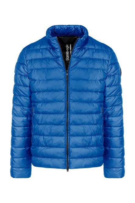 Jacket in nylon micro ripstop with recycled PrimaLoft® filling