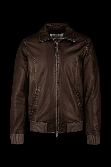 Leather bomber Chel
