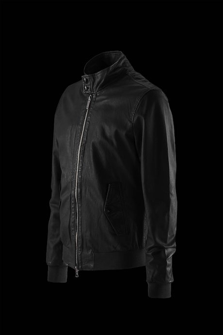Dafi leather jacket