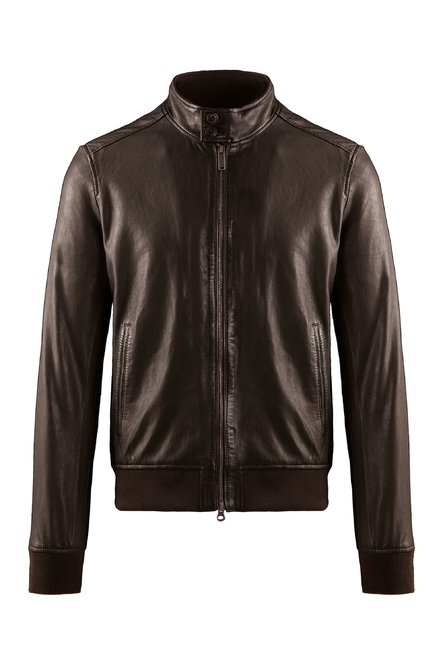 Friz leather jacket