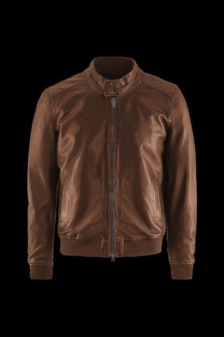 Man's leather jacket Friz