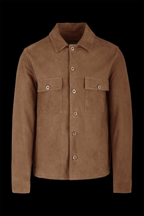 Hemdjacke aus Otan-Leder