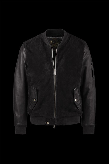 Leather Bomber Stan
