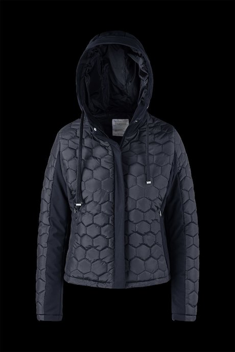 Bi material Jacket Honeycomb Quilting
