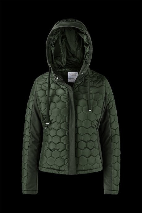 Bi material Jacket Honeycomb Quilting