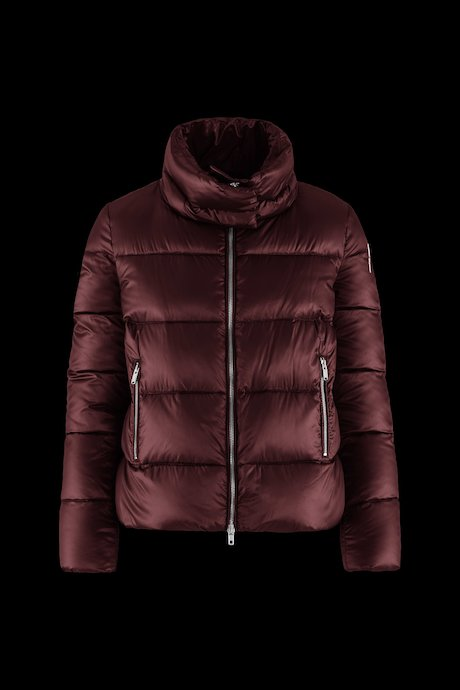 Giubbini donna e giacche Donna Piumino Corto Collo A Cratere - Bomboogie a7682244f65