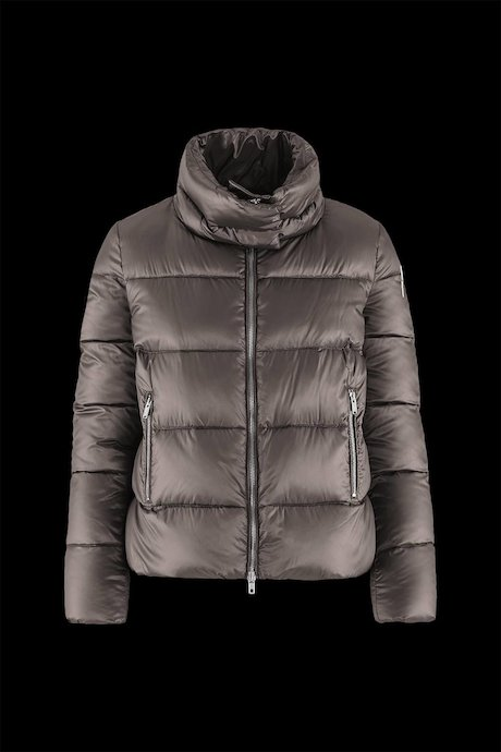 Short Down Jacket Wide Collar