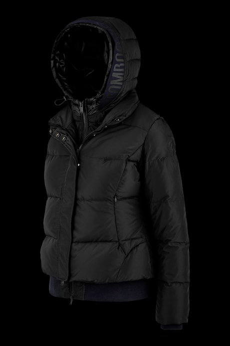 Down jacket with detachable vest