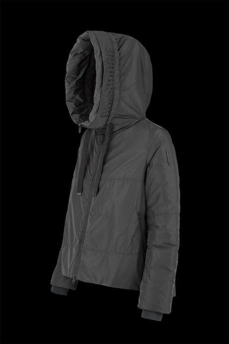 Recycled material windbreaker down padding