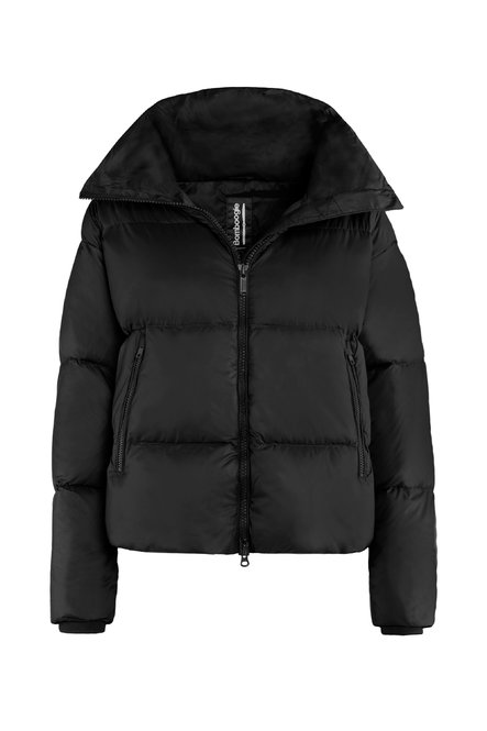 Real down jacket in nylon