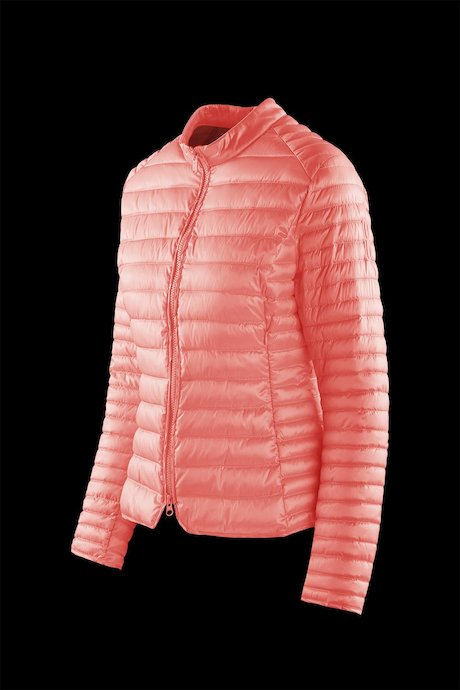 Nylon sateen down jacket