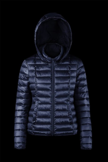 Reversible two colours down jacket