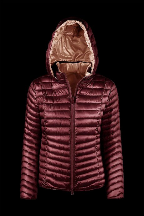 Two-colours reversible down jacket