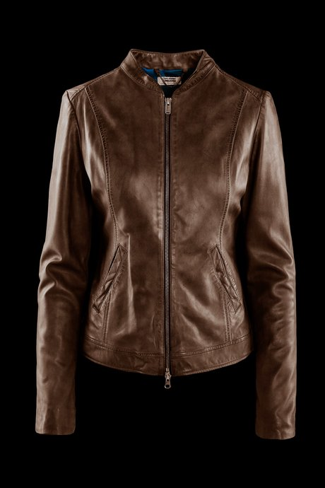 Gely leather jacket
