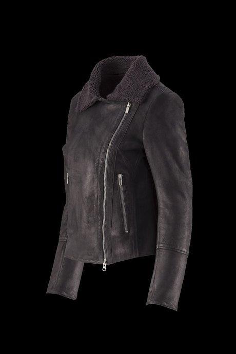 Woman's leather jacket Mazi