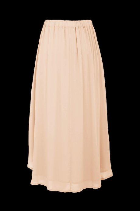 Asymmetric long skirt