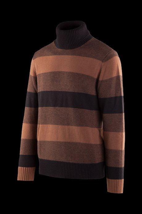 Turtleneck sweater wool blend