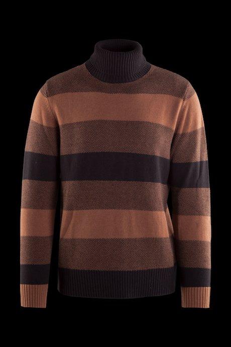 Jersey de cuello alto de lana mezclada