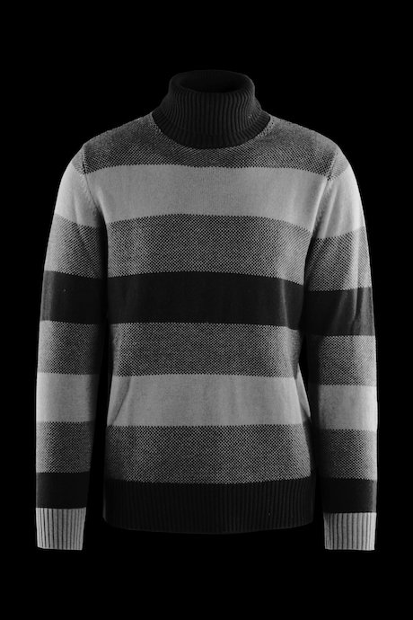 Turtleneck sweater wool blend