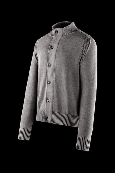 Cotton cardigan with buttons