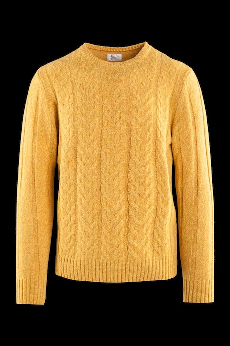 Braided sweater wool blend