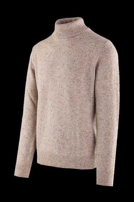Wool blend turtleneck