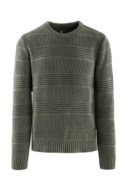Sweater cotton tricot fade effect