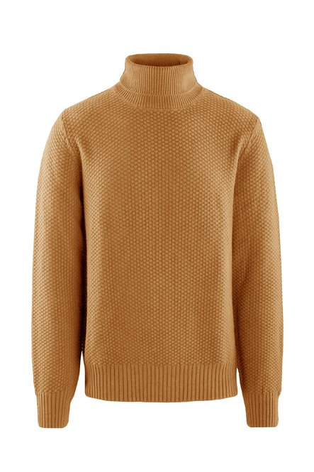 Turtleneck seed stitch