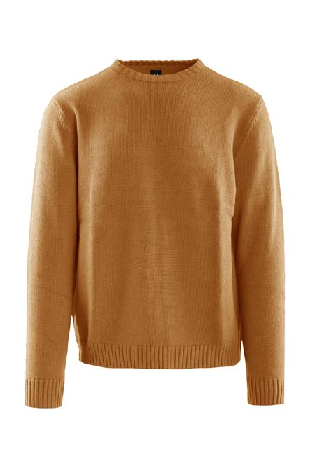 Pullover in cotton blend tricot