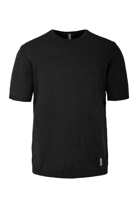 Kalt gefärbtes T-Shirt aus Trikot Baumwolle mit Rundhalsausschnitt