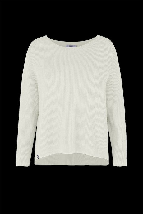 Round neck sweater raglan sleeve