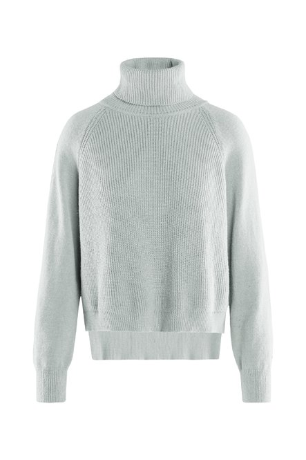 Turtleneck viscose blend