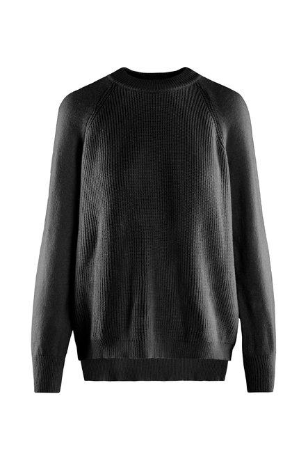 Roundneck sweater viscose blend