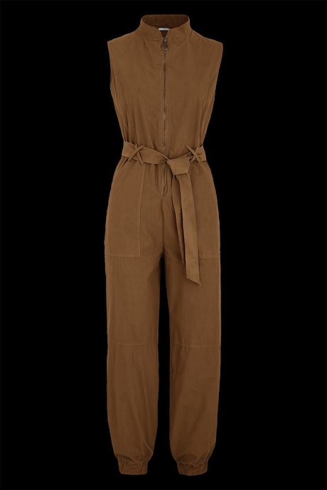 Jumpsuit with sash