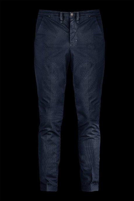 Pantalone Chino Cotone con Microstampa
