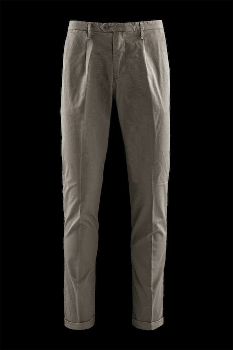 Microprinted trousers