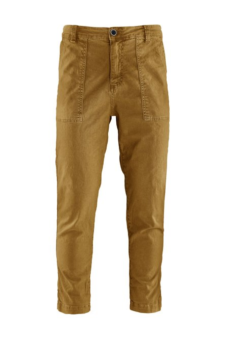 Mash pants cotton gabardine