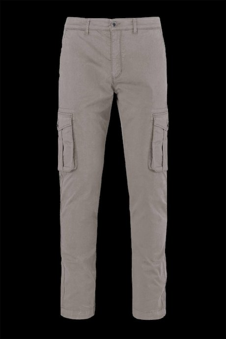 Cotton trousers with pockets