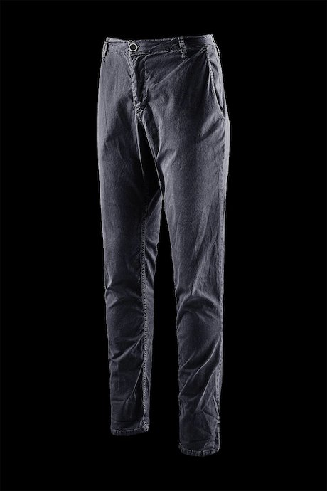 Five pockets trousers microprinted