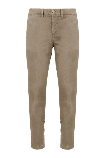 Well trousers in Oxford cotton